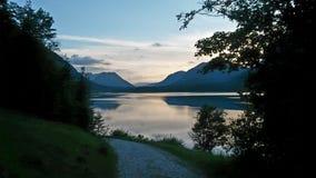 Όμορφο mountainlake Στοκ Εικόνα