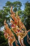 Όμορφο naga ραμπών του ναού, Ταϊλάνδη στοκ εικόνες