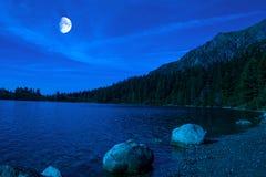 Όμορφο pleso Strbske λιμνών Στοκ Φωτογραφία
