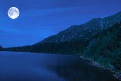 Όμορφο pleso Strbske λιμνών Στοκ Εικόνες