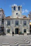 Όμορφο Praca 5 Outubro στο Κασκάις, Πορτογαλία Στοκ εικόνες με δικαίωμα ελεύθερης χρήσης