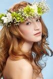 Όμορφο redhead κορίτσι στοκ φωτογραφίες