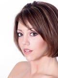 όμορφο redhead λευκό πορτρέτου Στοκ εικόνες με δικαίωμα ελεύθερης χρήσης