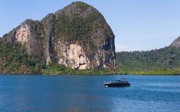Όμορφο seascape απαρατήρητη Ταϊλάνδη Στοκ φωτογραφίες με δικαίωμα ελεύθερης χρήσης