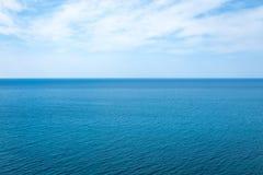 Όμορφο seascape στον Ατλαντικό Ωκεανό Στοκ Εικόνα