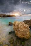 Όμορφο seascape φύσης Στοκ φωτογραφίες με δικαίωμα ελεύθερης χρήσης