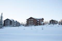 Όμορφο sunrisre στο βουνό Trysil Στοκ Εικόνες