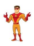 Όμορφο Superhero λυπάται για ελεύθερη απεικόνιση δικαιώματος