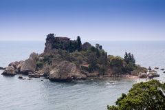 όμορφο taormina της Σικελίας isola ν&eta Στοκ Εικόνες