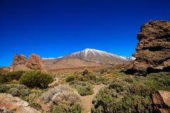 Όμορφο Tenerife ηφαίστειο - EL Teide Στοκ φωτογραφίες με δικαίωμα ελεύθερης χρήσης
