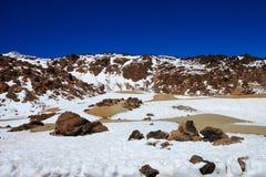 Όμορφο Tenerife ηφαίστειο - EL Teide Στοκ φωτογραφία με δικαίωμα ελεύθερης χρήσης