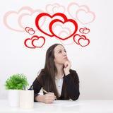 Όνειρα αγάπης στοκ εικόνες με δικαίωμα ελεύθερης χρήσης