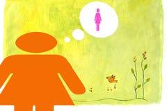 όνειρα μεμβρανοειδή Στοκ εικόνες με δικαίωμα ελεύθερης χρήσης