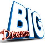 Όνειρο μεγάλο Στοκ Εικόνες