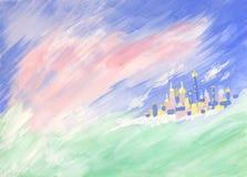 όνειρο πόλεων φανταστικό Στοκ Εικόνα