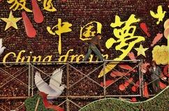Όνειρο της Κίνας Στοκ φωτογραφία με δικαίωμα ελεύθερης χρήσης