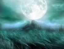 όνειρο scape διανυσματική απεικόνιση