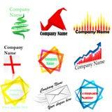 όνομα λογότυπων επιχείρησης Στοκ Φωτογραφίες