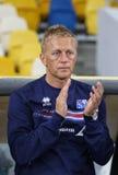 Όντας κατάλληλο παιχνίδι Ουκρανία β Παγκόσμιου Κυπέλλου 2018 της FIFA Ισλανδία στοκ φωτογραφία με δικαίωμα ελεύθερης χρήσης