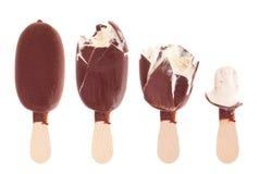 όντας κρέμα σοκολάτας πο&ups Στοκ Φωτογραφία