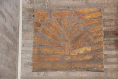 13 όντας χτισμένη πόρτα τα δωρικά βγαίνοντας ελληνικά Δεκεμβρίου στηλών εορτασμών καθεδρικών ναών churh έχει το βασικό s simulacr Στοκ Εικόνες