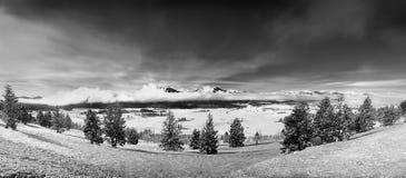 δόντι πριονιού βουνών του Ida Στοκ Εικόνες