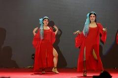 Όπερα εισηγητή facebook-Πεκίνο που τραγουδά και που χορεύει Στοκ εικόνες με δικαίωμα ελεύθερης χρήσης