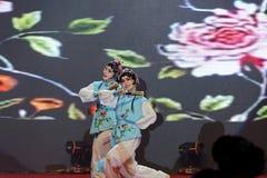 Όπερα εισηγητή facebook-Πεκίνο που τραγουδά και που χορεύει Στοκ Φωτογραφία