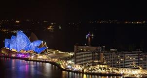 Όπερα και λιμάνι του Σίδνεϊ Στοκ φωτογραφία με δικαίωμα ελεύθερης χρήσης