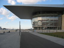 όπερα σπιτιών της Κοπεγχάγης Στοκ εικόνες με δικαίωμα ελεύθερης χρήσης