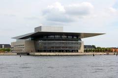 όπερα σπιτιών της Κοπεγχάγ& στοκ φωτογραφία