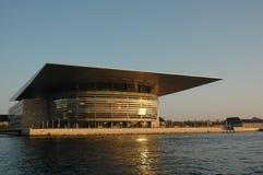 όπερα σπιτιών της Κοπεγχάγ& Στοκ Εικόνες