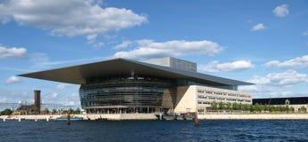 όπερα σπιτιών της Κοπεγχάγ& Στοκ Εικόνα