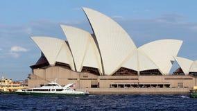 όπερα Σύδνεϋ σπιτιών της Αυ&sig απόθεμα βίντεο