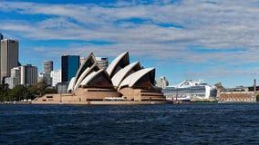 όπερα Σύδνεϋ σπιτιών της Αυ&sig Στοκ φωτογραφία με δικαίωμα ελεύθερης χρήσης