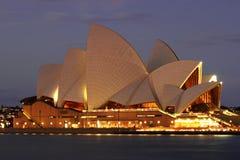 όπερα Σύδνεϋ σπιτιών Στοκ Φωτογραφία