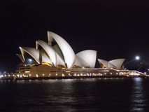 Όπερα του Σίδνεϊ στοκ εικόνα με δικαίωμα ελεύθερης χρήσης