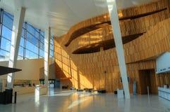 όπερα Όσλο οικοδόμησης Ν&omi Στοκ εικόνα με δικαίωμα ελεύθερης χρήσης