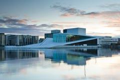 όπερα Όσλο σπιτιών Στοκ Εικόνα
