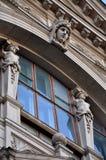 Όπερα Lviv και κλασικό εξωτερικό προσόψεων θεάτρων μπαλέτου Βιενέζικο ύφος νεω-αναγέννησης Στοκ φωτογραφία με δικαίωμα ελεύθερης χρήσης