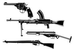 όπλα Στοκ Φωτογραφίες