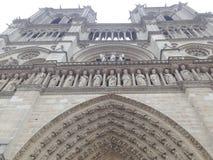 Όποιος ονομάστηκε την ομορφότερη αρχιτεκτονική Notre Dame de Στοκ Φωτογραφία