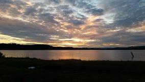 Όπου τα φω'τα αγγίζουν τη γη Στοκ φωτογραφίες με δικαίωμα ελεύθερης χρήσης
