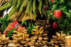 όπως η ανασκόπηση είναι μπορεί θέμα απεικόνισης Χριστουγέννων χρησιμοποιούμενο Στοκ Εικόνες