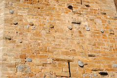 όπως η ανασκόπηση είναι μπορεί φρούριο να απεικονίσει το χρησιμοποιημένο τοίχο Στοκ εικόνες με δικαίωμα ελεύθερης χρήσης