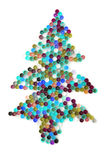 όπως πλαστικό δέντρο χρώματ&omi Στοκ Φωτογραφία