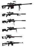 Όπλο ελεύθερων σκοπευτών Στοκ φωτογραφία με δικαίωμα ελεύθερης χρήσης
