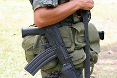 Όπλο του πολέμου Στοκ Εικόνες