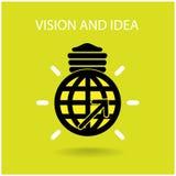 Όραμα και σημάδι ιδεών Στοκ εικόνα με δικαίωμα ελεύθερης χρήσης