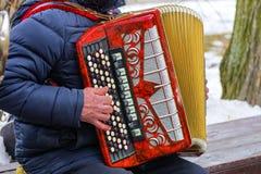 όργανα μουσικά Απόδοση ορχηστρών στο φεστιβάλ Στοκ Εικόνες